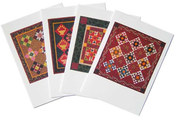 Nine Patch Studio quilt pattern Note cards