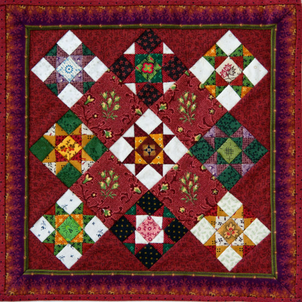Ohio Star Miniature Quilt